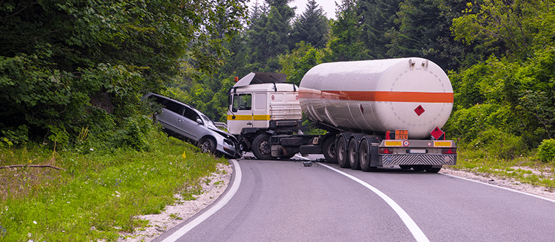 Injured in a truck accident