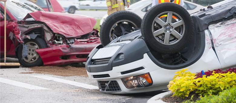 dangerous car accident