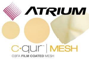 Atrium c-qur hernia mesh